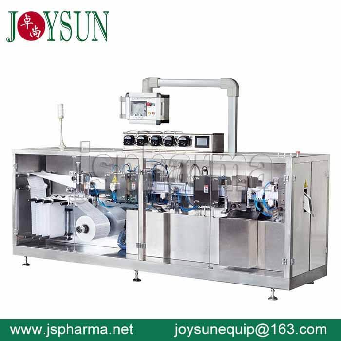 5Head-plastic-ampoule-filling-sealing-machine