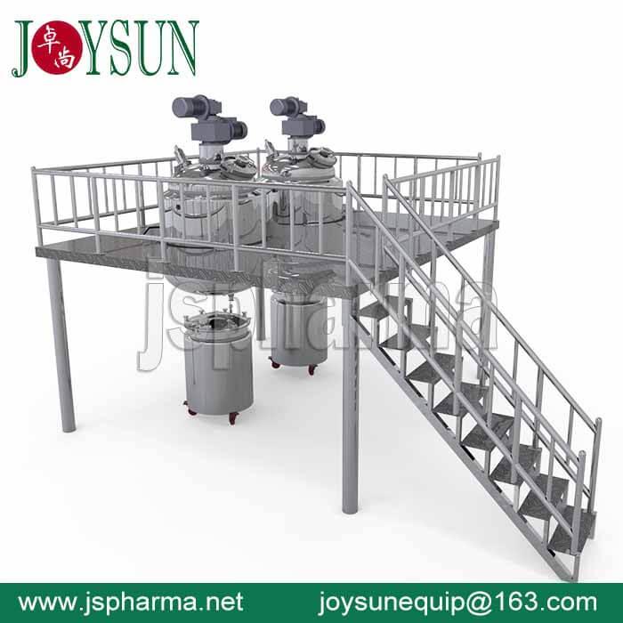 800L-gelatin-melting-tank-2sets