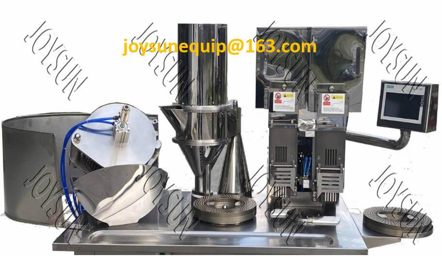 Double-loading-system-capsule-filling-machine