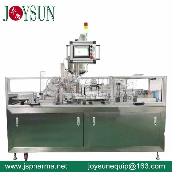 One-filling-head-suppository-filling-sealing-machine