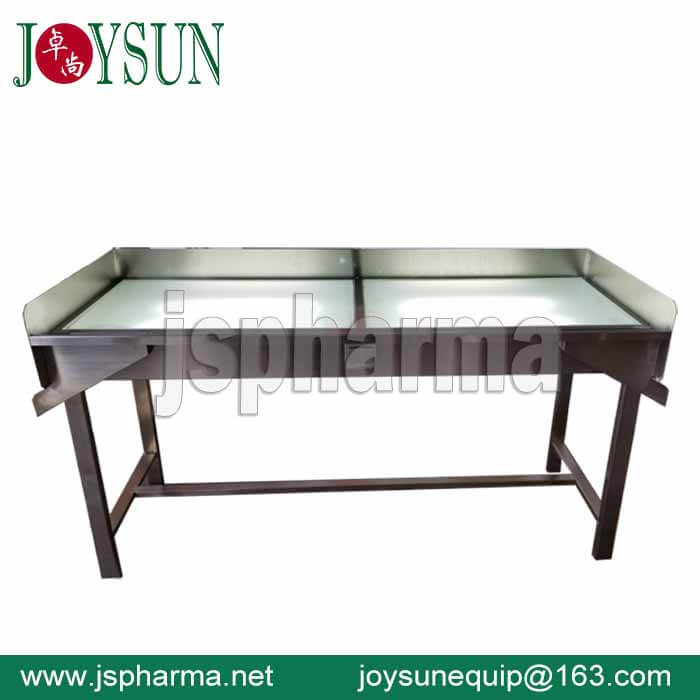 Softgel Capsule Inspection Table-Manual Type