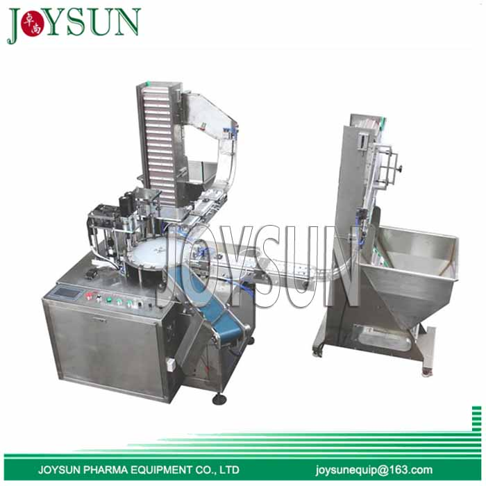 Cap-liner-inserting-assembling-machine