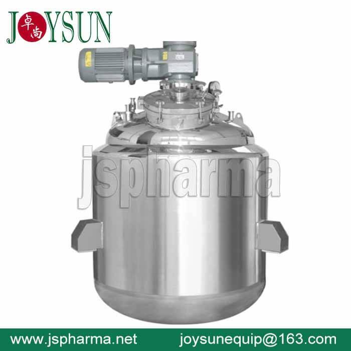 Softgel Gelatin Melting Tank|600L 800L 1000L