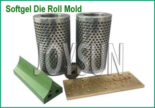 Softgel Dies On Softgel Encapsulation Machine
