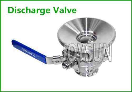 Tank Bottom Discharge Valve