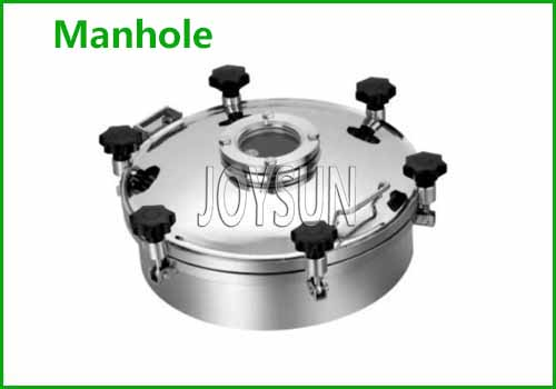 Tank Manhole For Quick Open And Material Loading