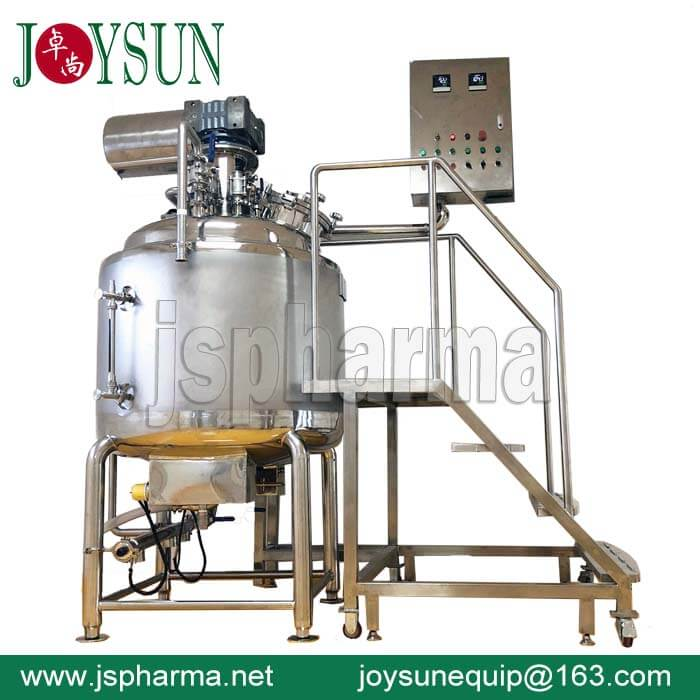 Tapioca Starch Melting Tank For Veggie Softgel
