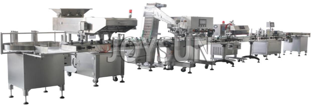softgel-capsule-counting-packing-line