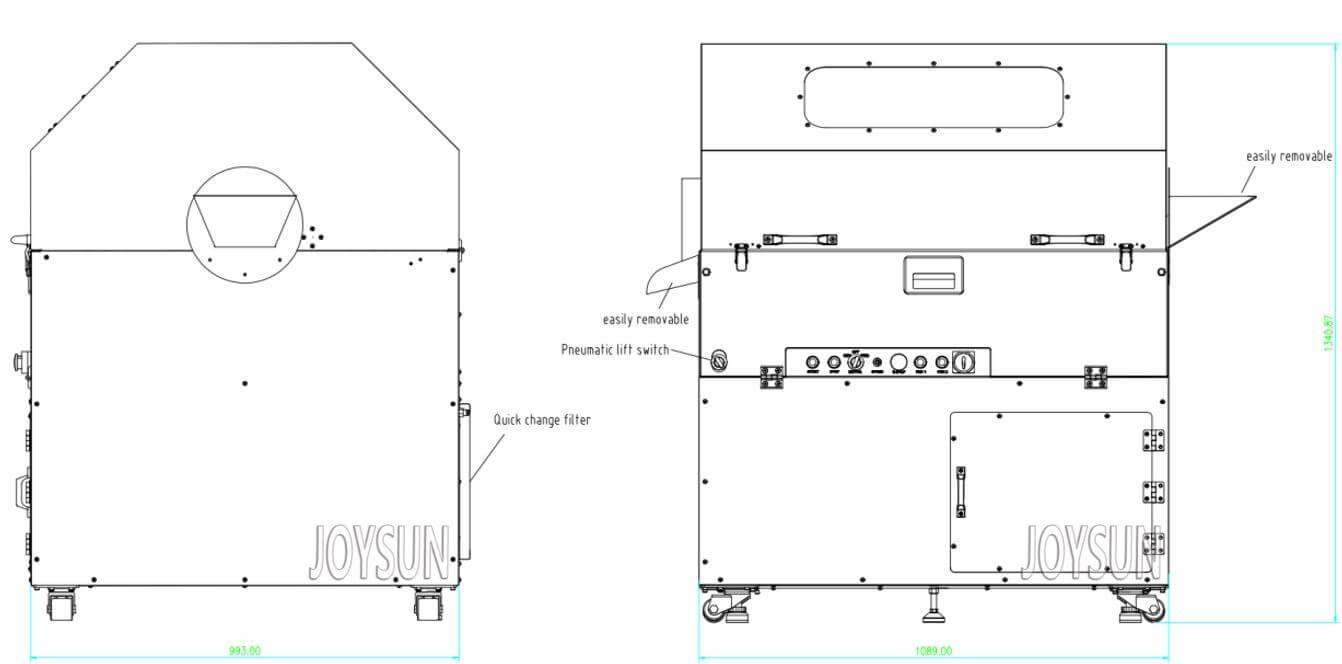softgel-capsule-tumbler-dryer-stand-alone